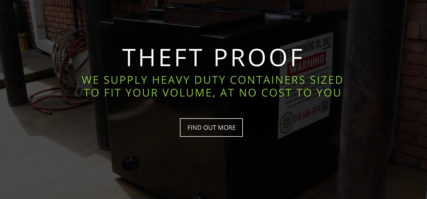 Theft Proof Container
